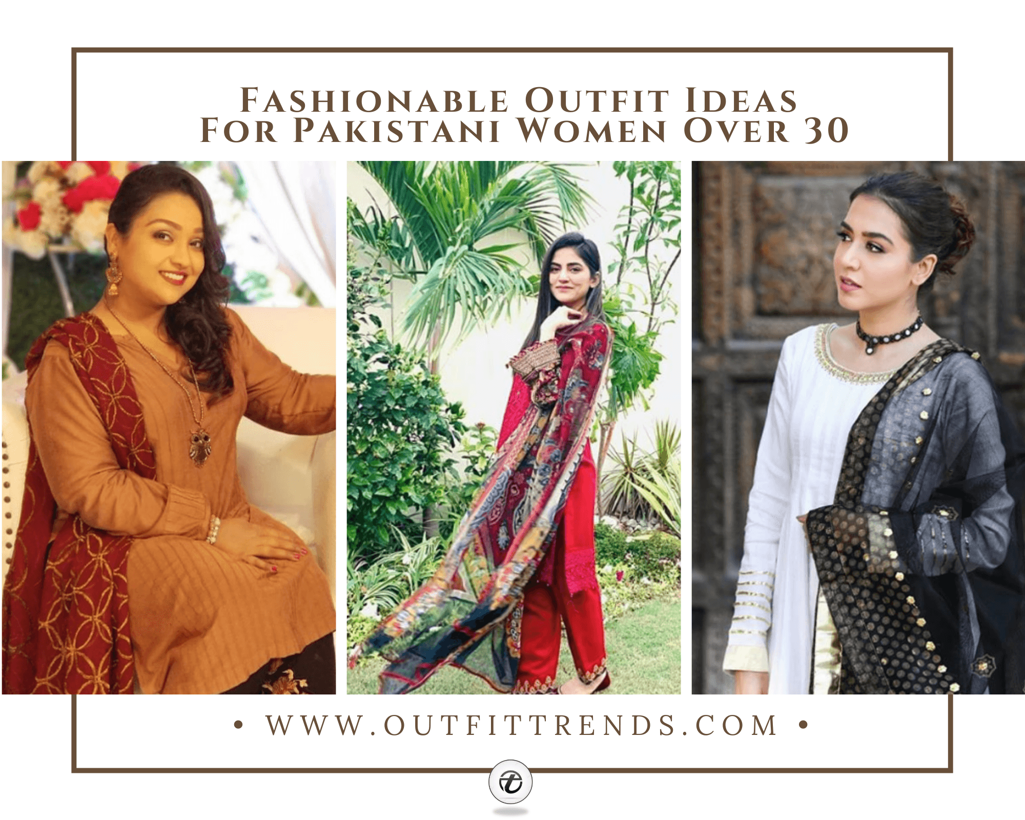 outfits for pakistani women in thirties