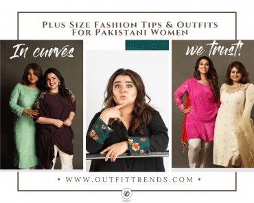 outfits for plus size pakistani women