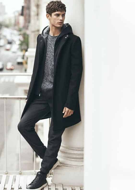 Ways for Men to Wear a Hoodie Stylishly (13)