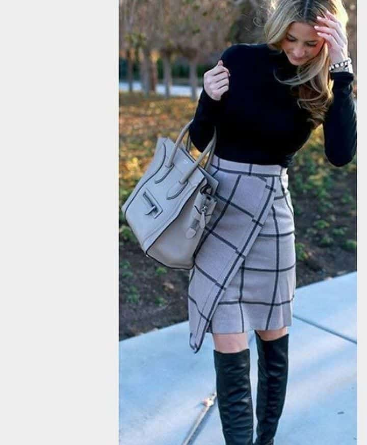 Ways to Wear a Wrap Skirt in Style (9)