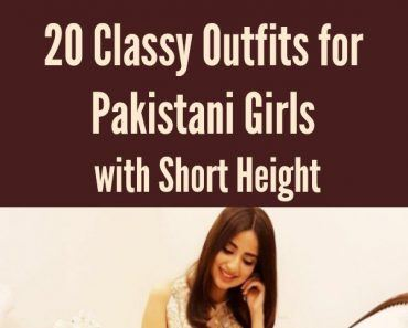 90b78f421f8 20 Classy Outfits for Pakistani Girls with Short Height
