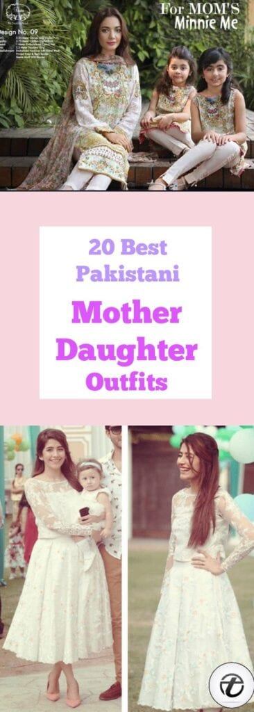 Pakistani Mother Daughter Outfits (1)