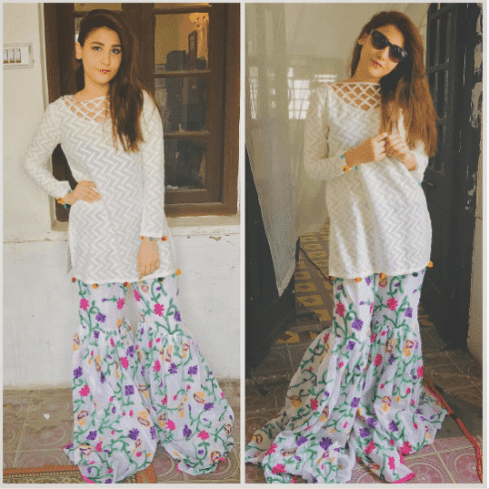 outfits for short height pakistani girls