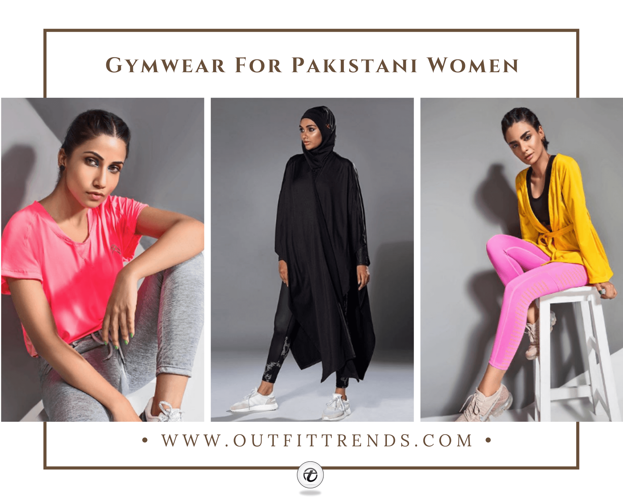 Sporty Outfits For Pakistani Girls – 30 Cool Gym Looks For Girls