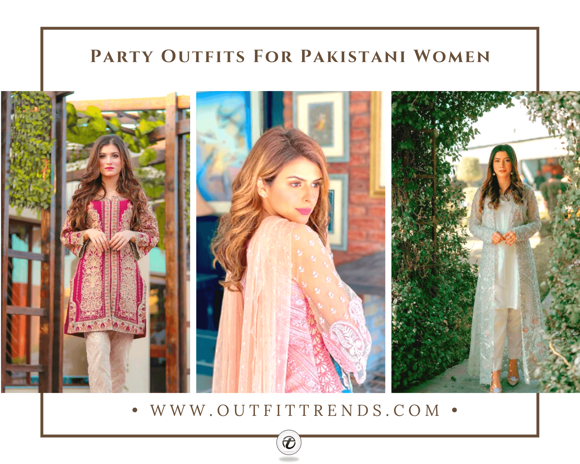 Pakistani Party Wear – 35 Party Outfits For Pakistani Girls