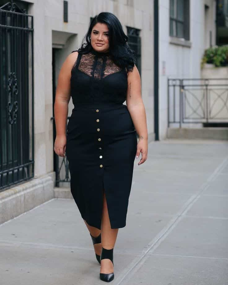 plus size over 50