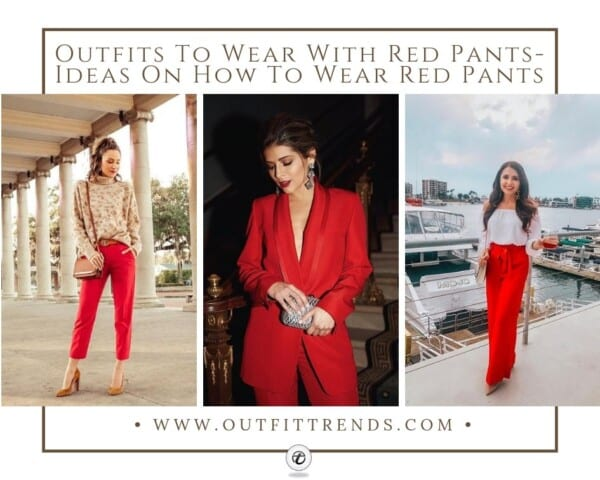 How to Style Red Hot Pants (1)