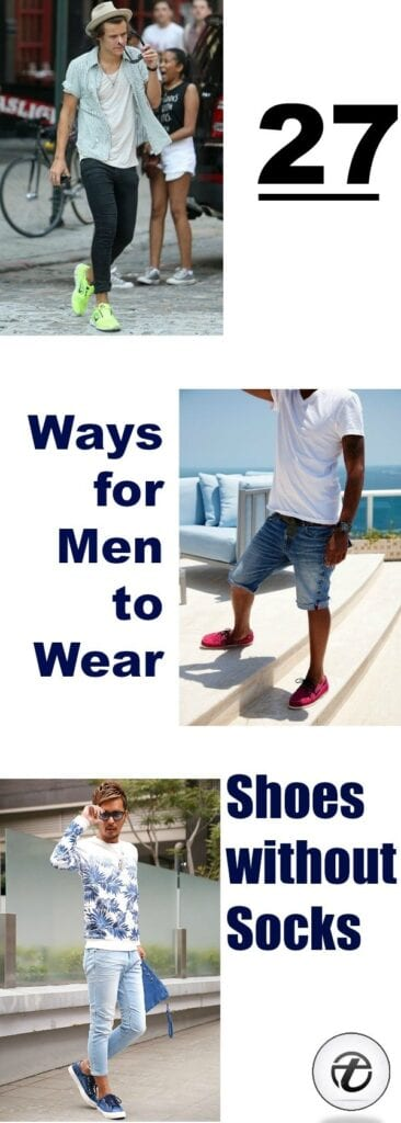 Shoes without Socks for Men (1)