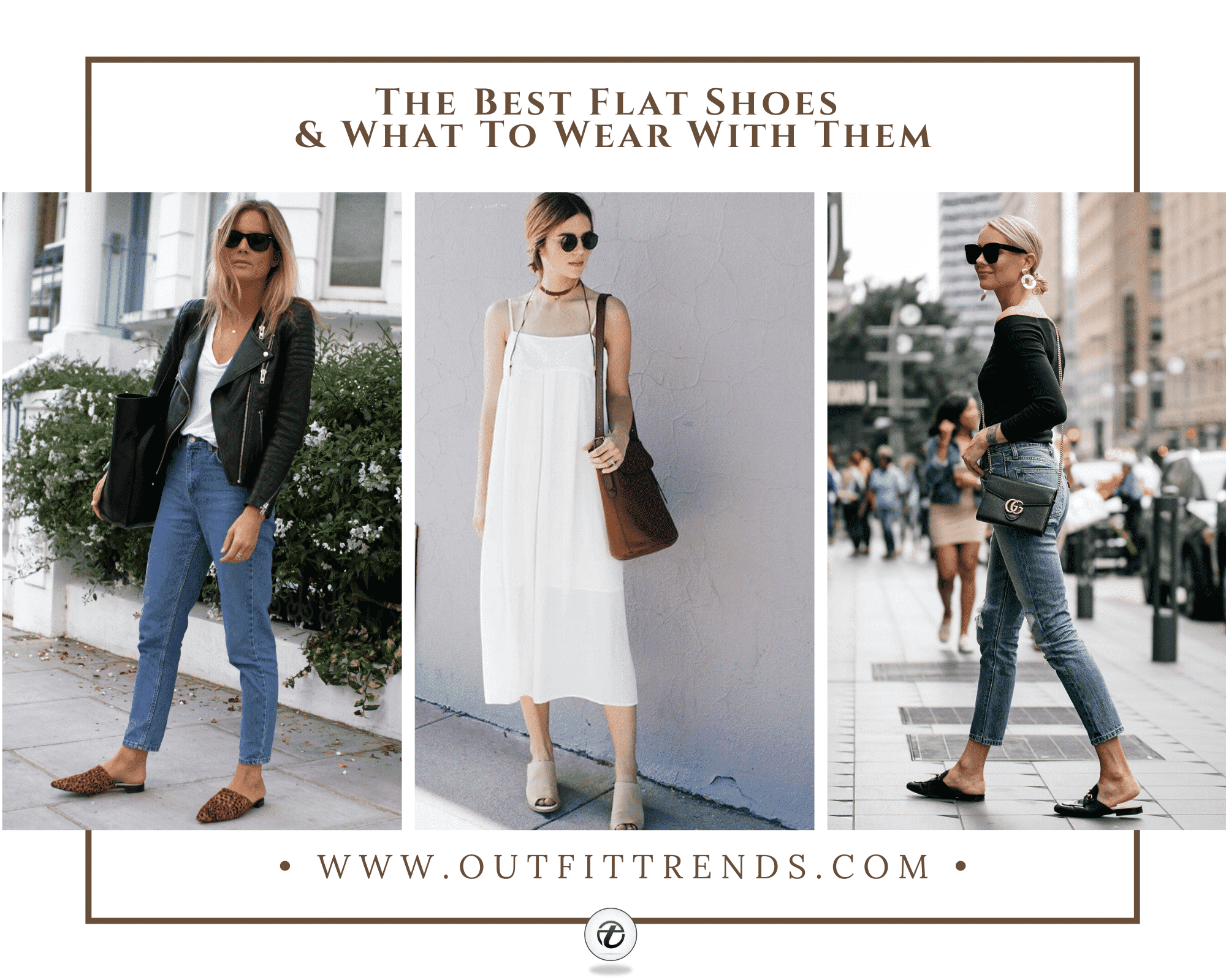 28 Types Of Summer Flat Shoes & Outfits To Wear With Flats
