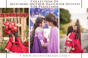 pakistani matching mother daughter outfits