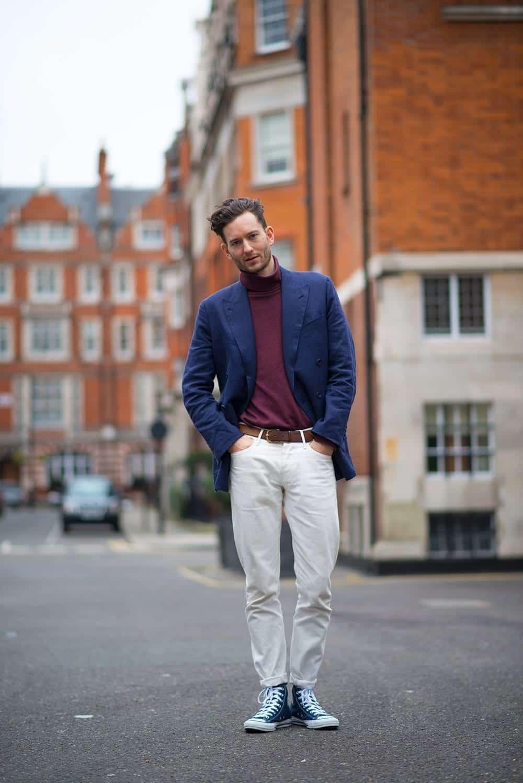 Men Turtleneck Style-23 Ideas How to Wear Turtleneck For Men recommendations