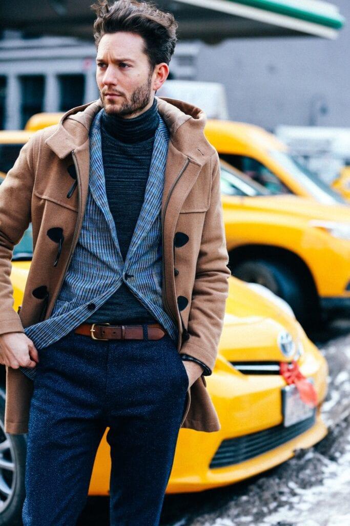 turtleneck outfits for men