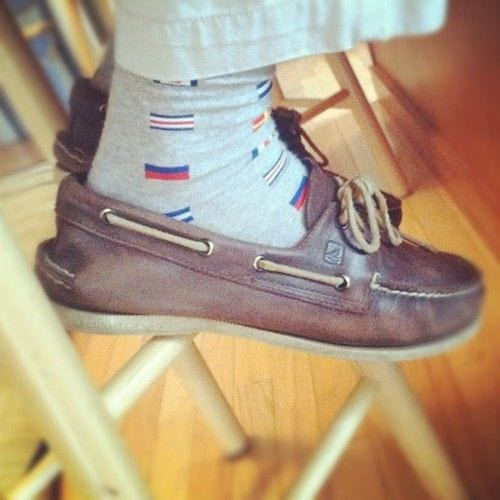 What Kind Of Socks To Wear With Boat Shoes