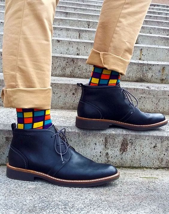 Men's Colorful Socks (8)