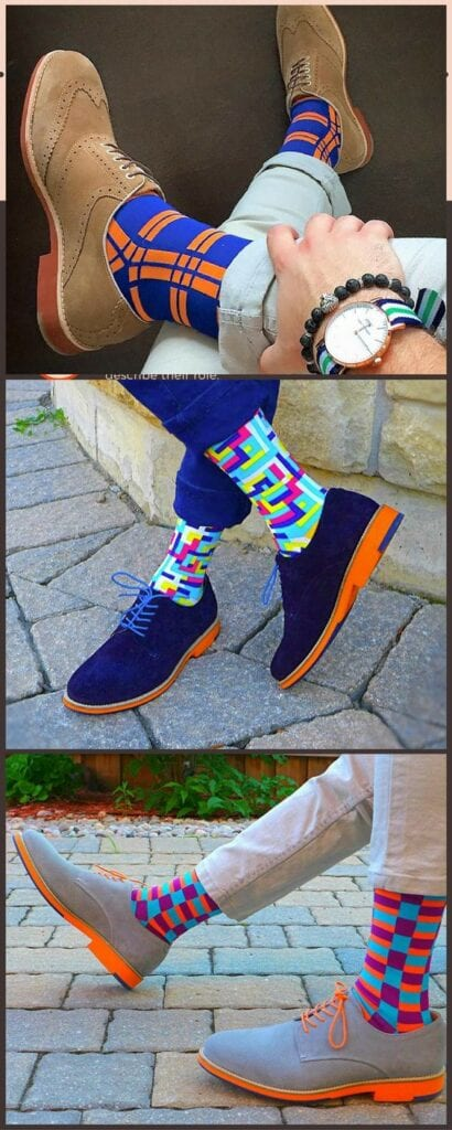 Men's Colorful Socks (5)