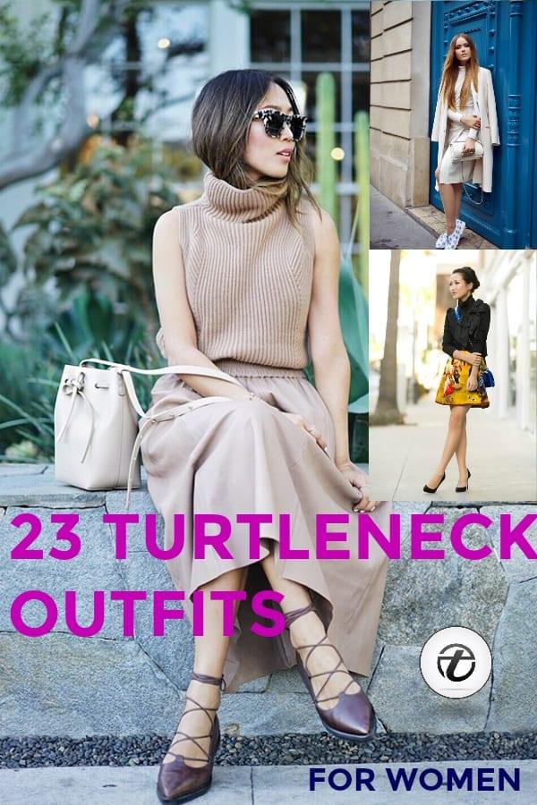 women turtlenecks