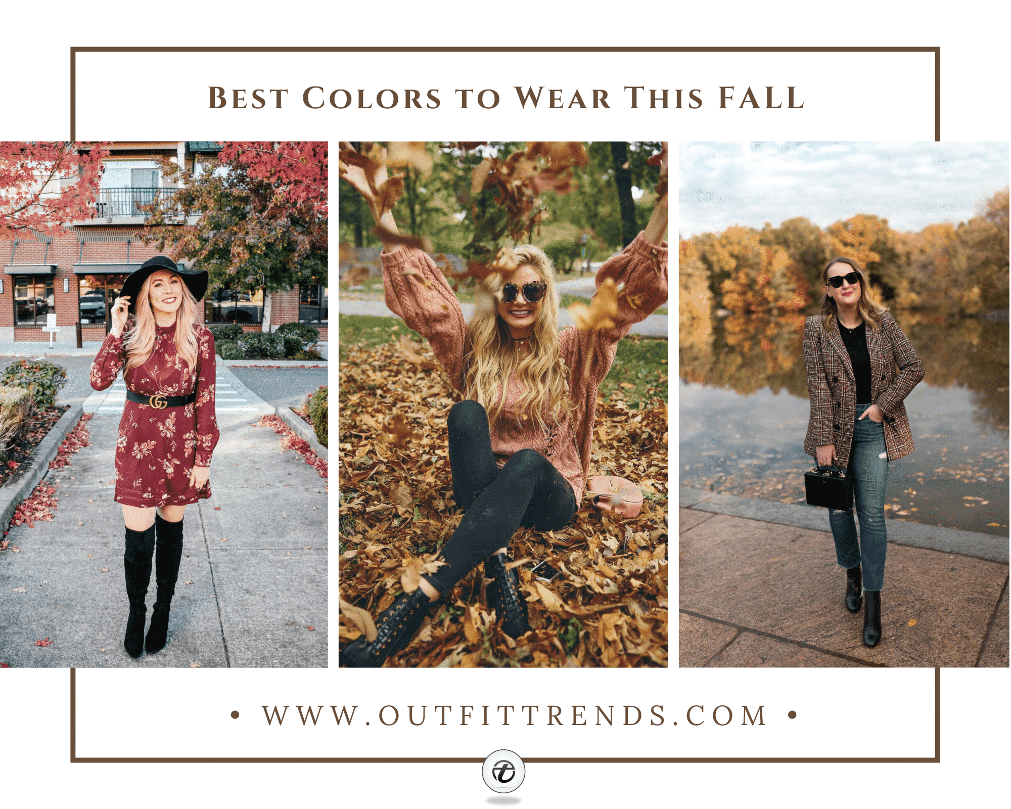 Womens Fall Colors 21 Best Colors to Wear this Fall