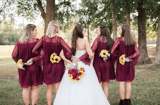 colours for fall weddings