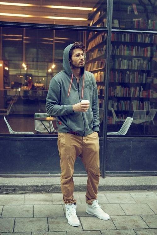 khaki pants outfits for men