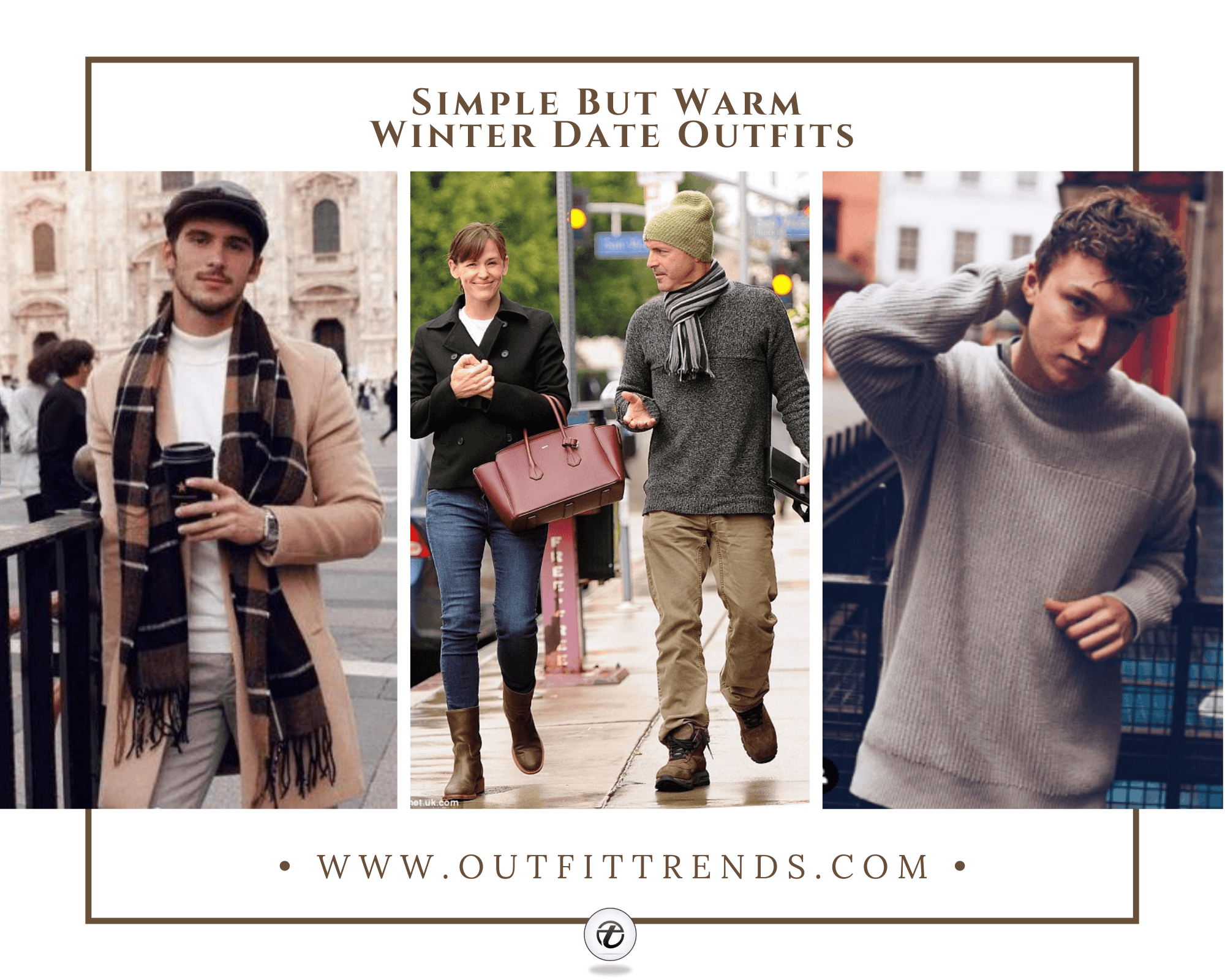 39 Best Men's Winter Date Outfits That Your Girl Will Love