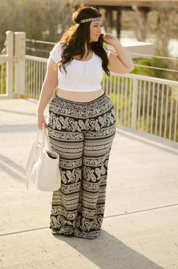 How To Wear Hippie Pants For Women