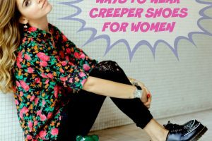 Women Outfits With Creeper Shoes