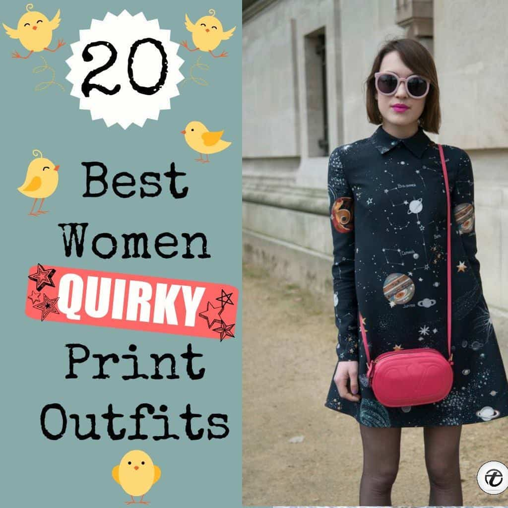 best quirky print outfits