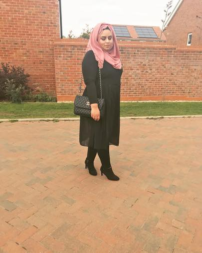 plus size hijab outfits