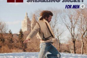 Shearling Jacket Outfit For Men