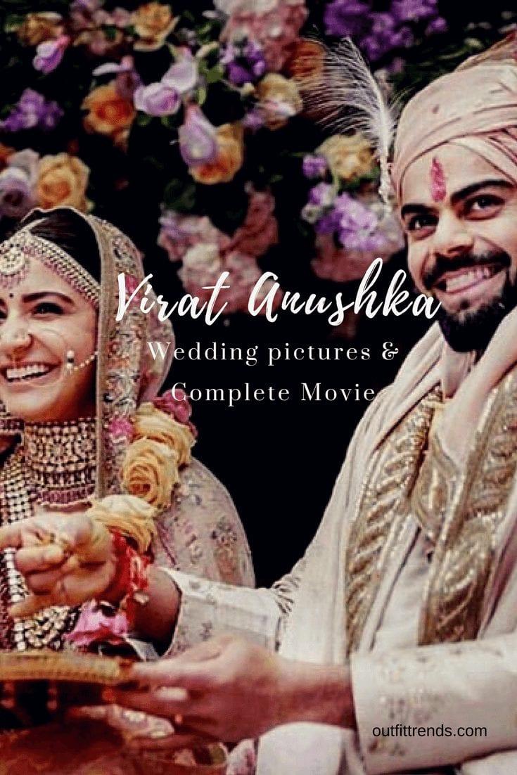 Virat Anushka Wedding Pictures and Videos