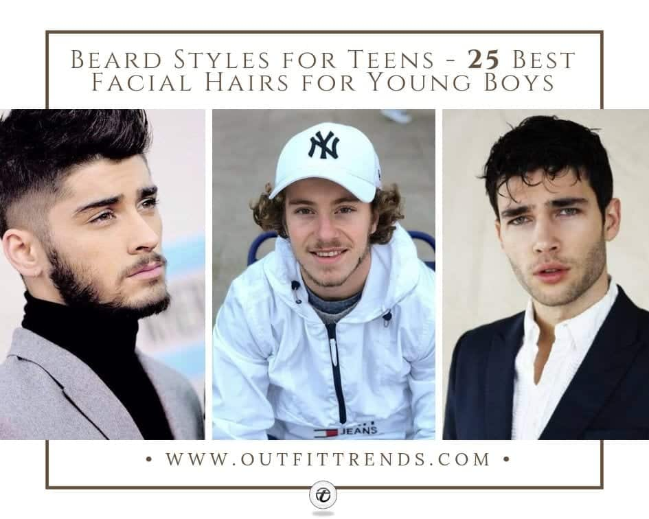 Beard Styles for Teens - 25 Best Facial Hairs for Young Boys