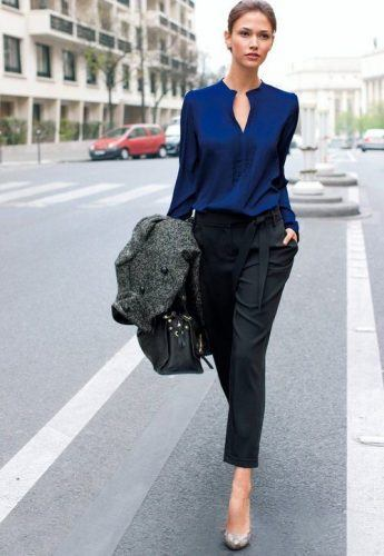 Women's Outfits with Business Casual Jeans (12)