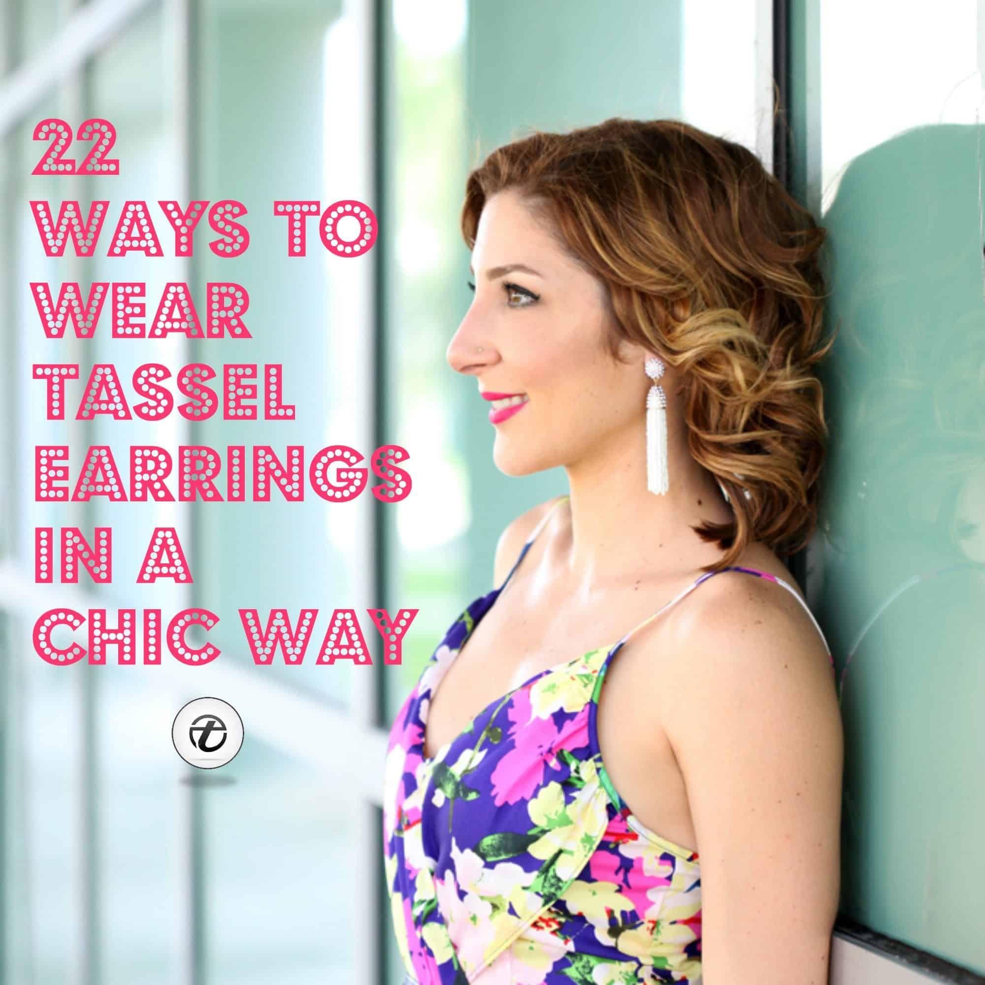 Wear you Would Tassel earrings? photo