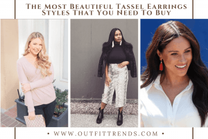 how to wear tassel earrings