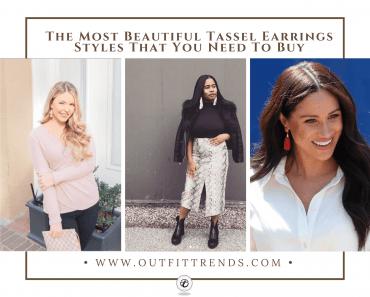 how to wear tassel earrings