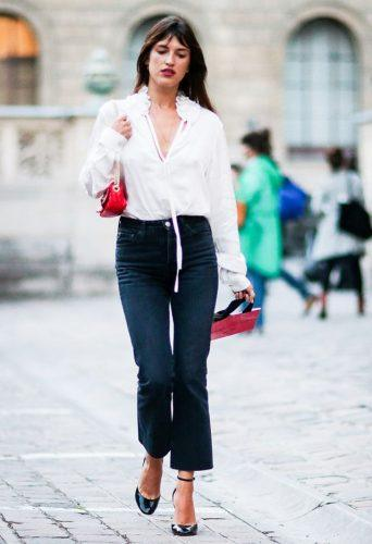 Women's Outfits with Business Casual Jeans (3)