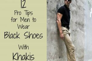 Black Shoes With Khakis (1)