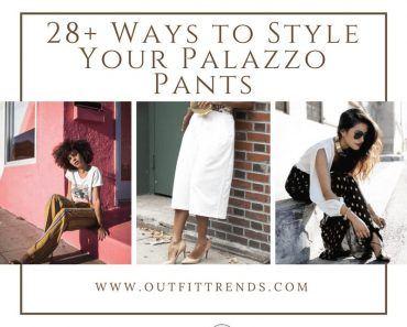 how to wear palazzo pants