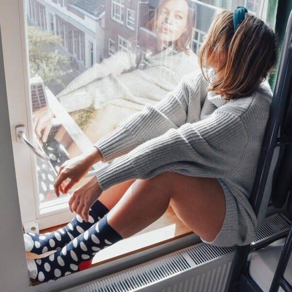 colorful socks outfits for women