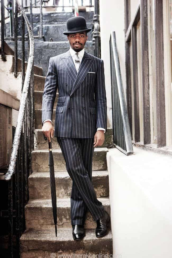 Charcoal Grey Suits with Black Shoes For Men (29)