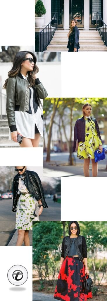 Leather bomber jacket outfits for women (1)