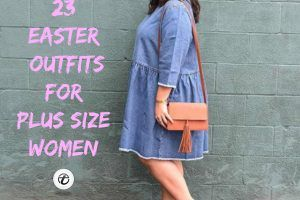 Easter Outfit For Plus Size Girls (2)