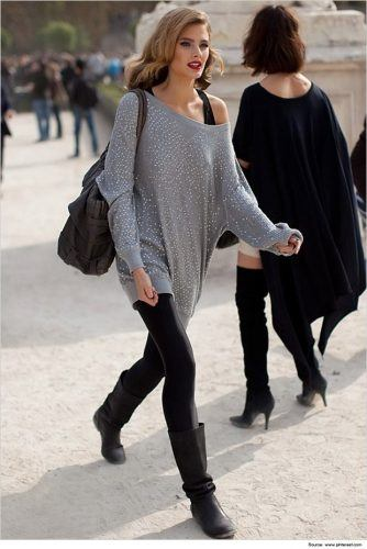 18 best Footless Tights Outfits (11)
