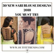4b229ebecd7758 30 New Saree Blouse Designs 2019 You Must Try