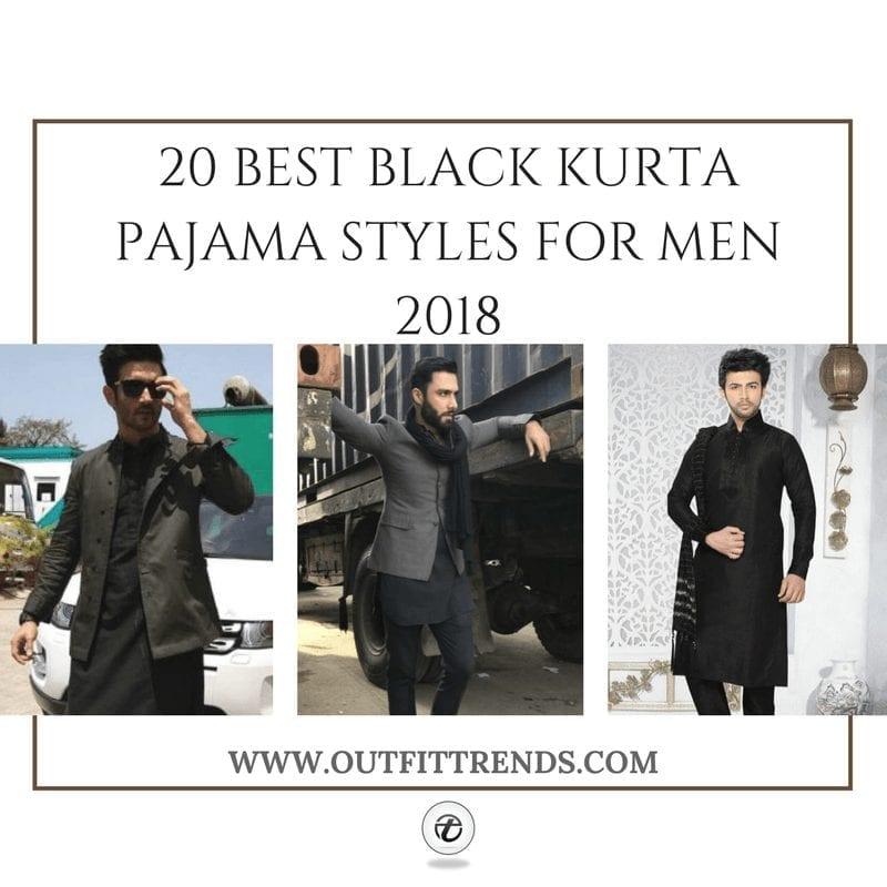 Black Kurta Pajama | 20+ Ways to Style a Black Kurta Pajama