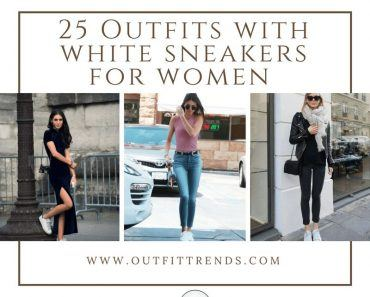 Outfits with White Sneaker for Women (26)