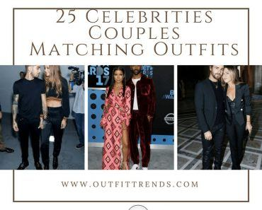 Celebrity Couple Matching Outfits