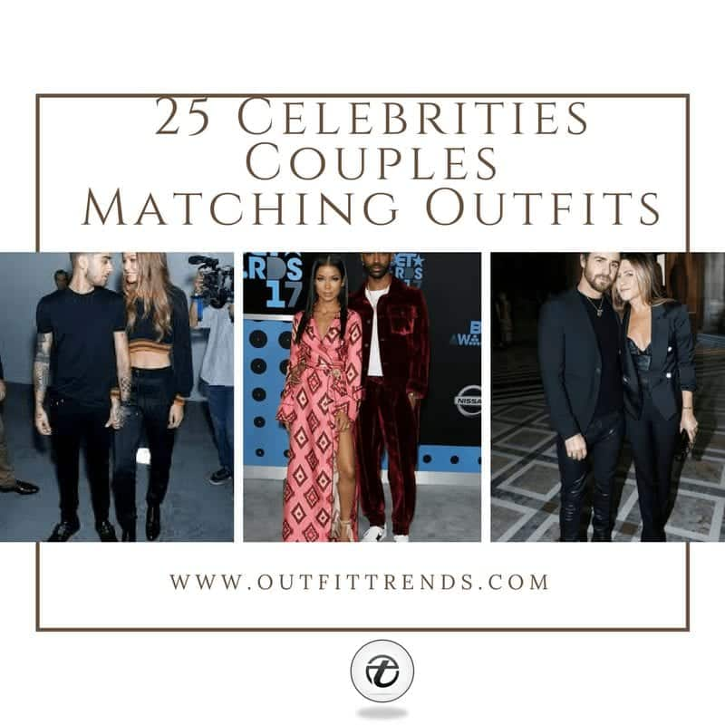 Celebrities Couples Matching Outfits25 Couples Who Nailed It
