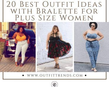 Plus Size Bralette Outfits