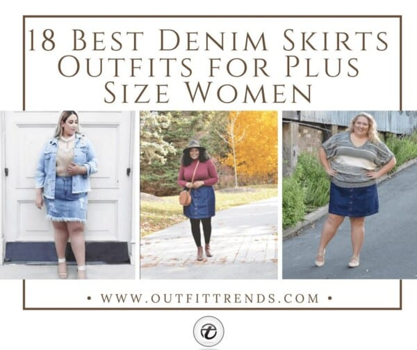 boy united kingdom affordable price 18 Best Denim Skirts Outfits for Plus Size Women 2019